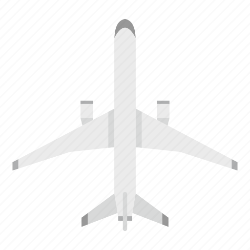 aircraft, airplane, big, fly, plane, sky, travel icon