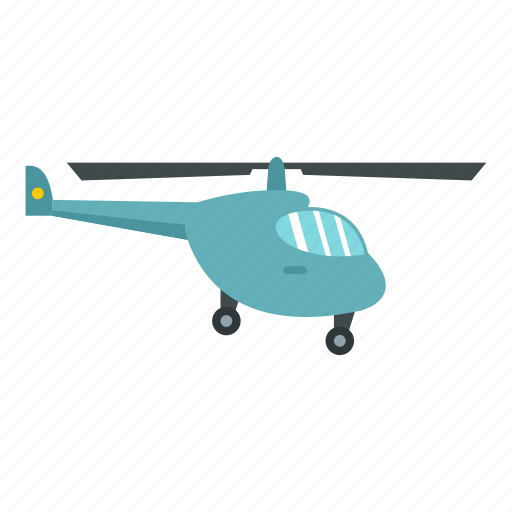 air, aircraft, flight, helicopter, small, transport, transportation icon