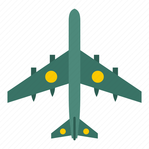 Air, aircraft, aviation, military, missiles, plane, transport icon - Download on Iconfinder
