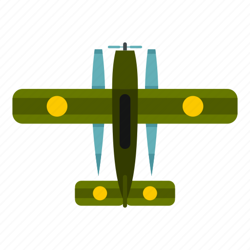 air, aircraft, aviation, biplane, fighter, military, plane icon