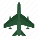 air, aircraft, aviation, fighter, missiles, plane, transport icon