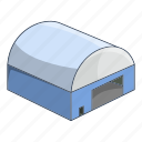 airplane, airport, hangar, plane icon