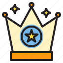 crown, prize, trophy, win, winner icon