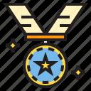medal, prize, trophy, win, winner