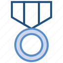 award, badge, medal, prize, reward, win icon