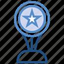 award, badge, prize, reward, star, trophy, win icon