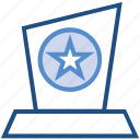 award, medal, prize, reward, win icon