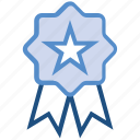 award, badge, medal, prize, reward, ribbon, win icon