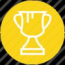 achievement, award, cup, ranking, reward, trophy, win icon
