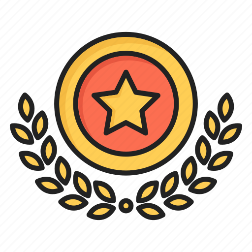 award, medal, proud, star, winner icon