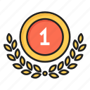 award, first, one, place, winner icon