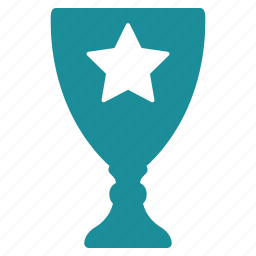 award, cup, first, star, trophy, win, winner icon