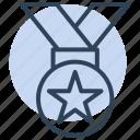 medal, badge, achievement, award
