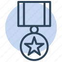 star, medal, achievement, award