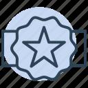 star, badge, award, quality