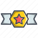 achievement, award, badge, military icon