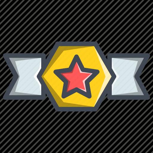 achievement, award, badge, military icon
