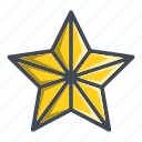 badge, favorite, favorites, star icon