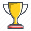 achievement, cup, trophy, winner icon