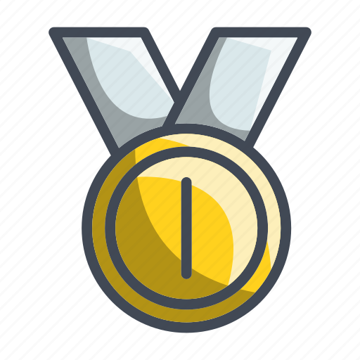 Medal, achievement, award, gold, trophy icon - Download on Iconfinder