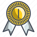 achievement, award, badge, winner icon