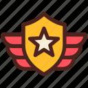 award, military, medal, badge