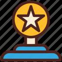 trophy, award, star, winner, prize