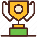 achievement, trophy, winner, prize, award