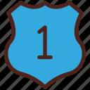 award, shield, winner, medal