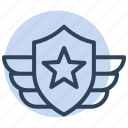 military, badge, award, medal