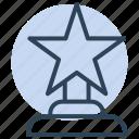 star, winner, award, prize, trophy