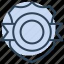shield, badge, award, medal
