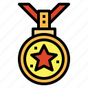 reward, award, medal, competition