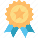 achievement, award, badge, medal, reward, success, trophy icon