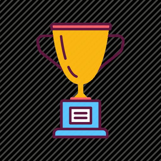 award, champion, championship, cubok, trophy, victory, winner icon