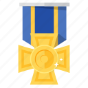 award, decoration for bravery, decoration for valor, medal, prize icon