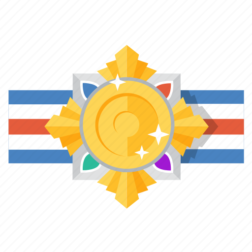 award, gold, honor, medal, prize, star, trophy icon
