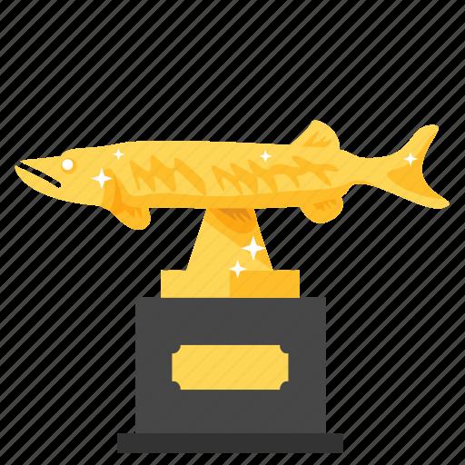 achievement, award, fishing, prize, reward, trophy, winner icon