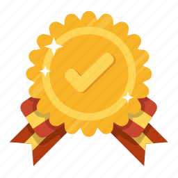 award, best, first choice, gold, guarantee, popular, recommend icon