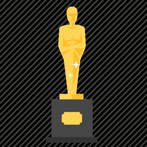 achievement, award, golden, oscar, prize, trophy, winner icon