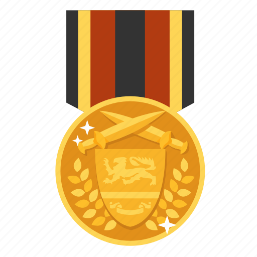achievement, award, gold, medal, prize, victor, winner icon