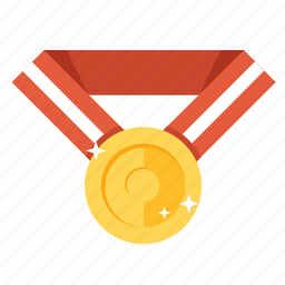 achievement, award, gold, golden, medal, prize, winner icon