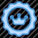 badge, award, ribbon, prize, achievement, winner, crown