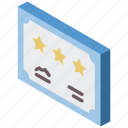 award, awards, certificate, iso, isometric