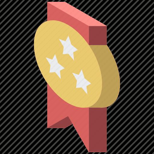 award, awards, iso, isometric, medal icon