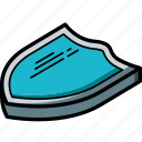 isometric, sheild, award
