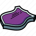 award, isometric, sheild icon