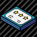 isometric, award, certificate