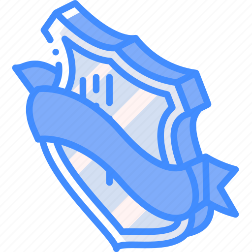 Award, awards, iso, isometric, ribbon, shield icon - Download on Iconfinder