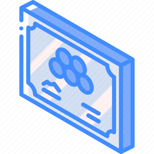 Award, awards, certificate, iso, isometric icon - Download on Iconfinder